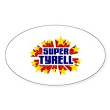 Tyrell the Super Hero Decal