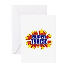Tyrese the Super Hero Greeting Card