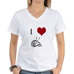 I Heart Yarn T-Shirt