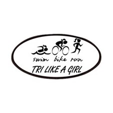 TRI LIKE A GIRL Patches