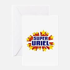 Uriel the Super Hero Greeting Card