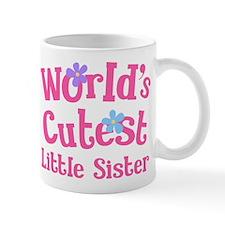 Worlds Cutest Little Sister Mug