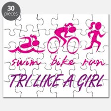 TRI LIKE A GIRL Puzzle