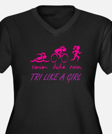 TRI LIKE A GIRL Plus Size T-Shirt