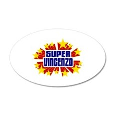 Vincenzo the Super Hero Wall Decal