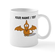 Custom Orange Pterodactyl Cartoon Mug