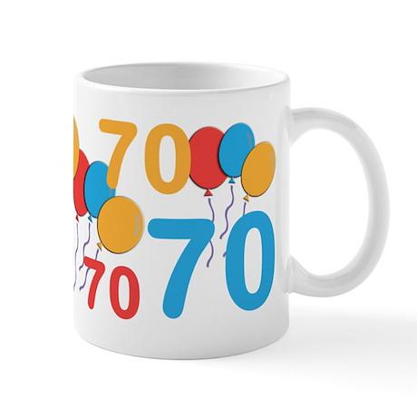 70 Years Old - 70th Birthday Mug