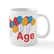 CUSTOMIZE NAME and AGE Birthday Small Mug
