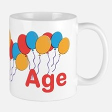CUSTOMIZE NAME and AGE Birthday Small Mugs