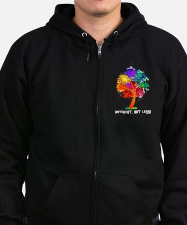 Different, not less! Hoodie Sweatshirt