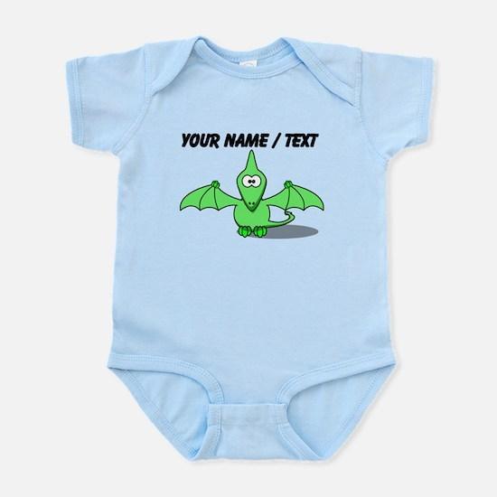 Custom Green Pterodactyl Cartoon Body Suit