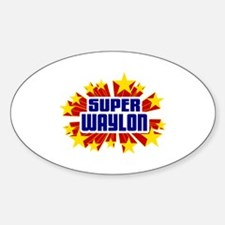 Waylon the Super Hero Decal