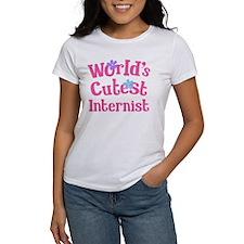 Worlds Cutest Internist Tee