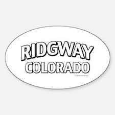 Ridgway Colorado Decal
