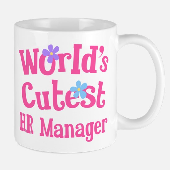 Worlds Cutest HR Manager Mug