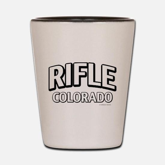 Rifle Colorado Shot Glass