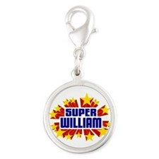 William the Super Hero Charms