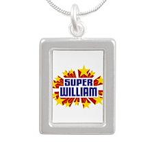 William the Super Hero Necklaces
