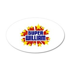 William the Super Hero Wall Decal