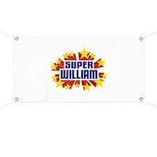 William the Super Hero Banner