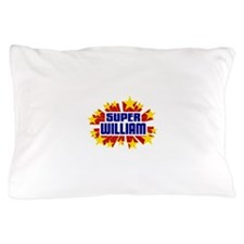William the Super Hero Pillow Case