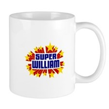 William the Super Hero Small Mugs