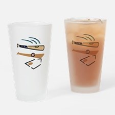 Baseball 4 Drinking Glass