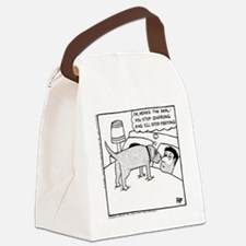 The Negotiation - Canvas Lunch Bag