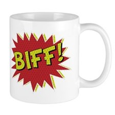 Cool retro comic book BIFF! design Mug