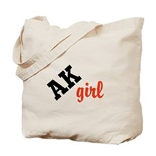 AK girl Tote Bag