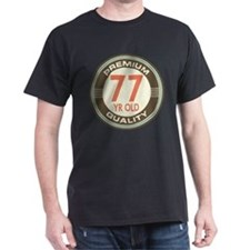 77th Birthday Vintage T-Shirt