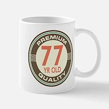 77th Birthday Vintage Mug