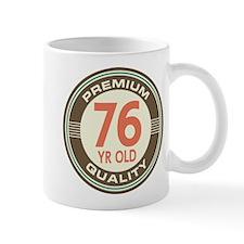 76th Birthday Vintage Mug