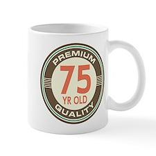 75th Birthday Vintage Mug