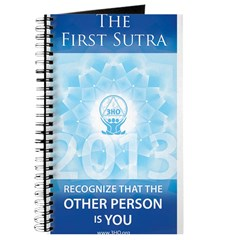 First Sutra Water Bottle Journal