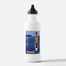 Vintage Hawaii Boat Travel Water Bottle