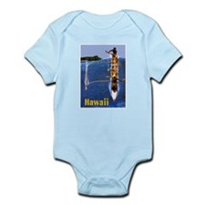 Vintage Hawaii Boat Travel Body Suit