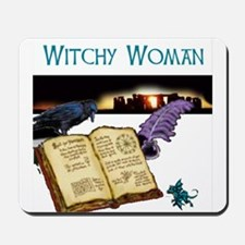 Witchy Woman too Mousepad