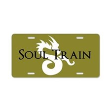 Soul Train Aluminum License Plate