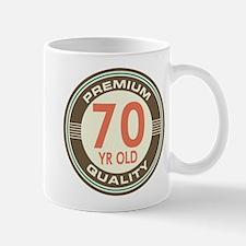 70th Birthday Vintage Mug