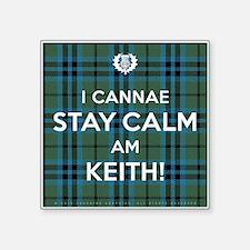 """Keith Square Sticker 3"""" x 3"""""""