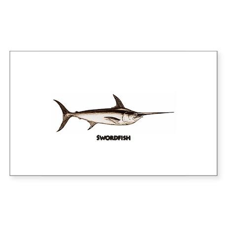 Broadbill Swordfish Logo Sticker