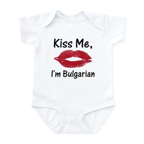 Kiss Me, I'm Bulgarian Infant Bodysuit