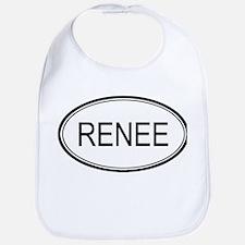 Renee Oval Design Bib