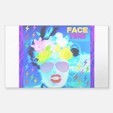 X-Ray Drag Diva SisterFace Decal