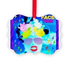 X-Ray Drag Diva SisterFace Picture Ornament
