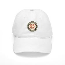 65th Birthday Vintage Baseball Cap