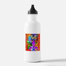 Science Disco Cupid Water Bottle