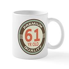 61st Birthday Vintage Mug