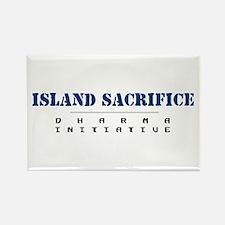 Island Sacrifice - Dharma Initiative Rectangle Mag
